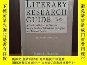 二手書博民逛書店Literary罕見Research Guide: A Guid