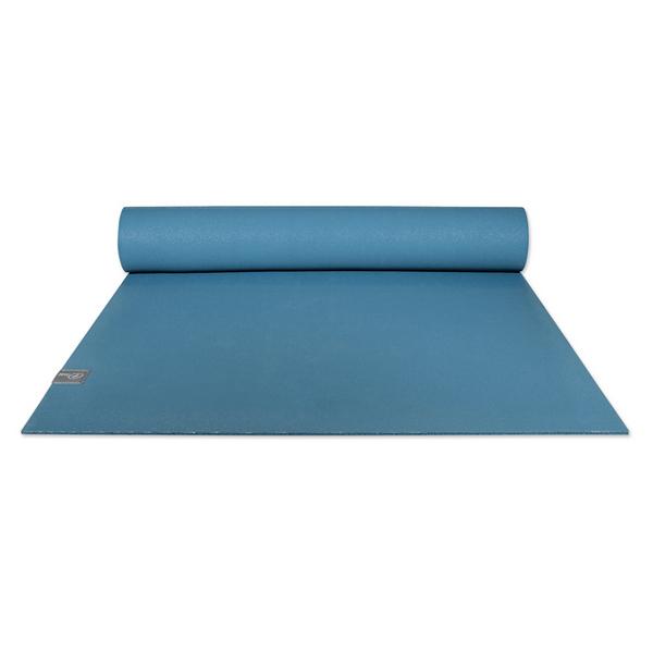 Taimat 天然橡膠瑜珈墊 183cm (附簡易揹帶) - 吠陀系列 - 冰原藍