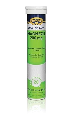 KRUGER 克魯格維他命發泡錠 維他命鎂 (綠) - 檸檬風味 20錠 專品藥局【2003702】