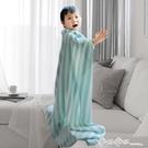 嬰兒冰絲毯夏季寶寶蓋毯薄款新生兒竹纖維小毯子幼兒園兒童空調被 西城故事