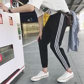 休閒褲韓版男士運動修身哈倫學生嘻哈小腳潮流長褲     米娜小鋪