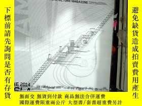 二手書博民逛書店建築景觀設計罕見Landscape architecture Magazine 2014 10Y203004