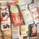 韓版創意零食筆簡約女學生清新可愛新文具盒...