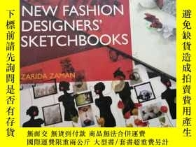 二手書博民逛書店new罕見fashion designer sketchbook