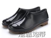 夏季防滑雨鞋男高筒雨鞋男士雨靴防滑水鞋男水靴廚房洗車中筒