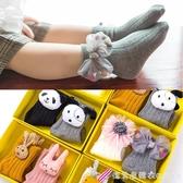 春秋冬季純棉0-1歲3新生兒寶寶6-12個月男女童可愛公仔襪嬰兒襪子 漾美眉韓衣