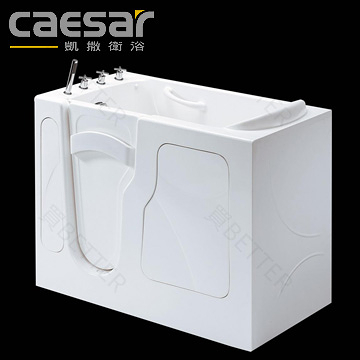 【買BETTER】凱撒浴缸/凱撒銀髮族衛浴 FG6001C無障阻開門浴缸(含龍頭)★送6期零利率
