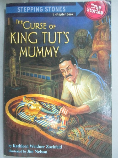 【書寶二手書T9/兒童文學_JML】The Curse of King Tut's Mummy_Zoehfeld, Ka