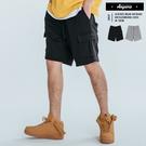 短褲 舒適透氣好看好穿多口袋棉質工作短褲【K0017】工作褲 潮流  棉褲