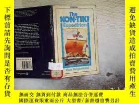 二手書博民逛書店the罕見kon-t1k1 expedition .Y20300