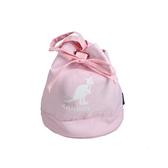 KANGOL 側背包 束口包 粉紅色 6025301841 noA86