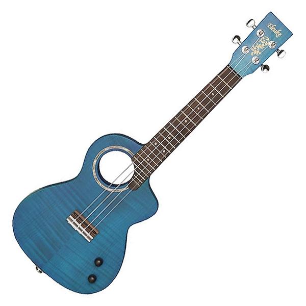 嚴選Eleuke SL-2 楓木面板26吋電烏克麗麗-藍色