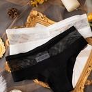 →女 三角褲←歐美ins漁網 破洞網面 女內褲 比基尼 低腰 無縫性感 丁字 無痕 XS_BT9