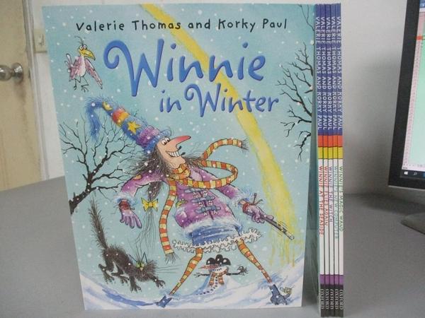 【書寶二手書T1/兒童文學_XBR】Winnie the Witch-Six Book Collection_附2片光碟_附殼_Valerie Thomas