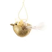 金色鳥吊飾