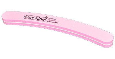 «SunShine» 日本砂 半月形可水洗美甲搓板 (特價供應)