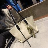 托特包-帆布包包大容量女包新款2020韓版手提包女大包學生上課單肩托特包