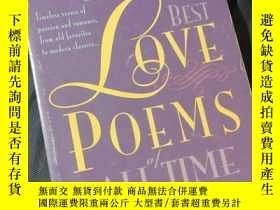 二手書博民逛書店the罕見100 Best Love Poems of All