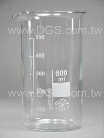 《德製》 高型燒杯 Beaker, Griffin, Tall Form
