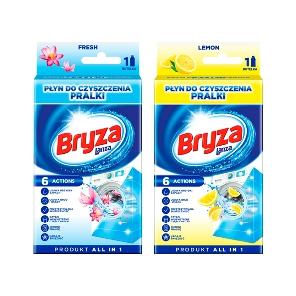 Bryza 洗衣機清潔劑(滾筒型適合)250ml 款式可選【小三美日】