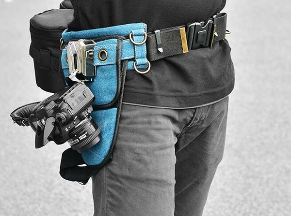 金屬單反相機腰帶扣適用於佳能尼康索尼微單富士鬆下單反相機快 教主雜物間