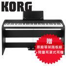 【敦煌樂器】KORG B1SP BK 88鍵數位電鋼琴 時尚黑色款
