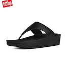 【FitFlop】LULU LEATHER TOE-THONGS 經典款夾腳涼鞋-(黑色)-女