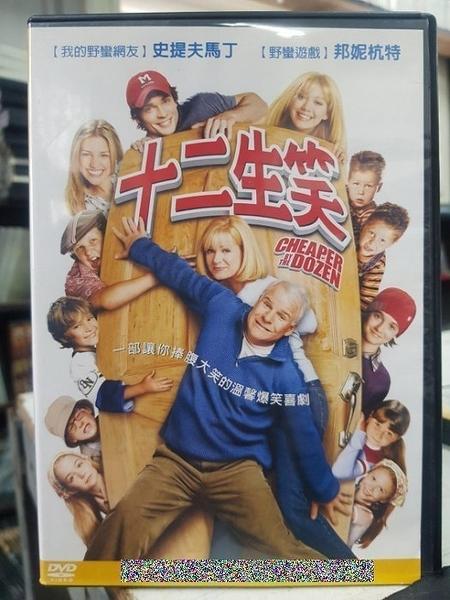 挖寶二手片-C68-正版DVD-電影【十二生笑】-艾希頓庫奇 史提夫馬丁 邦妮杭特 希拉蕊朵芙(直購價)