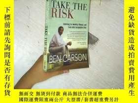 二手書博民逛書店TAKE罕見THE RISK BEN CARSON Learni