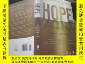 二手書博民逛書店HOPE罕見HOW TRIUMPHANT LEADERS CRE