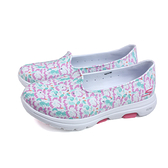 SKECHERS CALI GEAR 懶人鞋 防水 女鞋 白色 花卉 111106WMLT no162