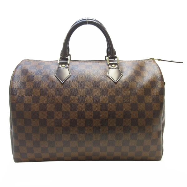 LOUIS VUITTON LV 路易威登 棋盤格手提波士頓包 Speedy 35 N41363【BRAND OFF】