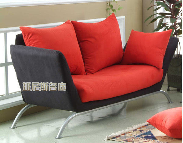 空間的夢想家【班尼斯名床】~卡布里北歐風情沙發床(153顆獨立筒坐墊)