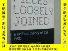 二手書博民逛書店A罕見unified theory of the web 網的統