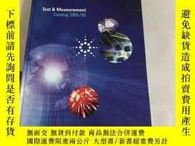 二手書博民逛書店test罕見& measurement catalog 2005
