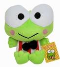 【卡漫城】 大眼蛙 玩偶 16CM 黑領結 ㊣版 絨毛娃娃 附吸盤 青蛙 Keroppi 可洛比 吊飾 擺飾