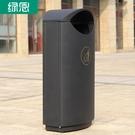 綠恩不銹鋼垃圾桶戶外 特色分類果皮箱 地產小區簡約垃圾桶定做 夢幻小鎮「快速出貨」