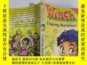 二手書博民逛書店witch罕見finding meridian 尋找子午線的女巫Y200392