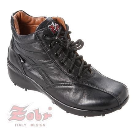 【南紡購物中心】ZOBR路豹 經典真皮氣墊女短靴 3989