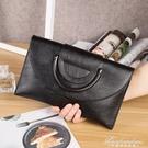 手拿包女新款時尚女包潮大容量斜背包韓版信封手抓包側背包包 黛尼時尚精品