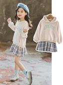 女童連身裙2020新款洋氣秋裝小女孩長袖公主裙兒童裙子網紅大童裝 童趣屋