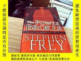 二手書博民逛書店【英文原版】The罕見power broker -- steph
