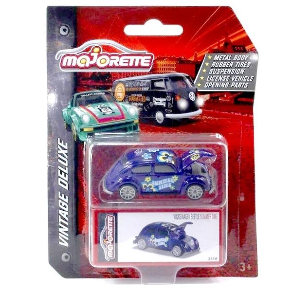 Majorette 美捷輪 VINTAGE DELUXE 復古盒裝車 福斯 金龜車 VW BEETLE SUMMER TIME TOYeGO 玩具e哥