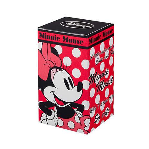 《石塚硝子》迪士尼快樂米妮圓點玻璃杯-250ml(紅)★funbox生活用品★_IA01618