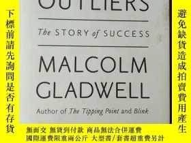 二手書博民逛書店Outliers:The罕見Story of Success(英文原版)Y209851 Malcolm Gla