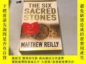 二手書博民逛書店英文原版:The罕見Six Sacred Stones《六神石》