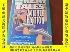 二手書博民逛書店GREAT罕見TALES OF SCIENCE FICTION(