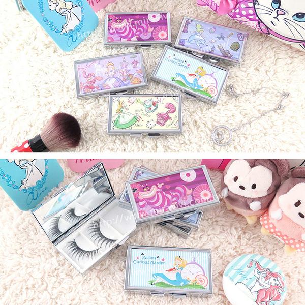 Disney迪士尼假睫毛/飾品萬用收納盒_愛麗絲系列