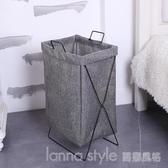 北歐可折疊布藝髒衣籃髒衣服收納整理家用洗衣籃收納筐浴室衣服 LannaS YTL