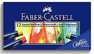 《輝柏 FABER》127012 ART GRIP 創意工坊油性粉彩條 12色 素描/學生/寫生/設計 必備
